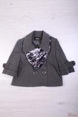 Jacket for the girl with a scarf the Ak99 Code E