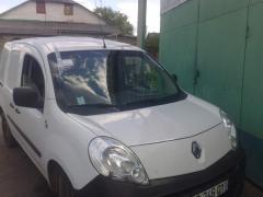 Windshield on Renault Kango II