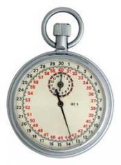 Stop watch mechanical SOPPR-1v-3-000