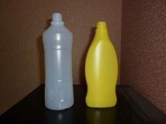 Bottles are polyethylene