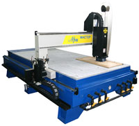 The high-speed milling machine with ChPU