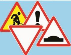 Знаки дорожные треугольные 700 мм