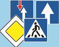 Знаки дорожные квадратные 700 мм