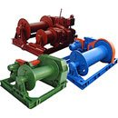 Electric mounting winches
