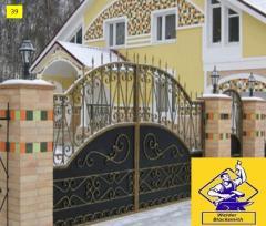 Ворота откатные модель  39