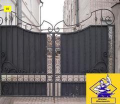 Ворота откатные модель  69