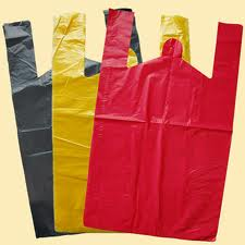 Packages and bags from polyethylene of any sizes.