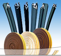 Wide range of rubber sealants for PVC systems, in