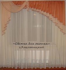 Assimetriya's lambrequin 2,5m Chiffon to