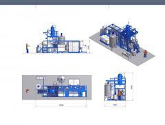 Оборудование (завод) по иготовлении маса (олии), переработка  с  рапса, сои, семочки, лёна и других с/х продукции