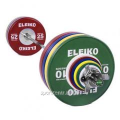 ELEIKO Штанга параолимпийская в сборе - 190,5 кг