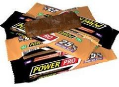 Protein bar of 25% of Power Pro cocoa of 40 grams