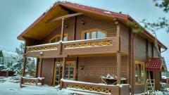 Houses from the bar which is pro-thinned