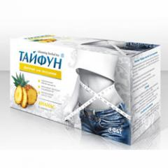 The typhoon Ananas for weight loss phytotea
