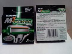 GILLETTE MACH3 POWER 8 лезвий