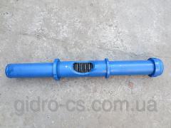 Гидроцилиндр поворота стрелы реечный погрузчика ПЭ-0,8Б 80.350 ПЭ-48 ПЭК