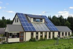 Solar power plant of 10 kW under a green rate