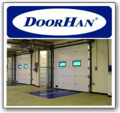 Гаражные секционные ворота DoorHan