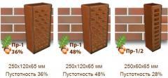 Клинкерный кирпич КлинКерам Магма Гранит Пр-1,