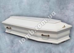 Гроб волна классическая-белый