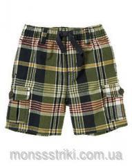 Летние шорты для мальчика 6-12, 12-18 месяцев