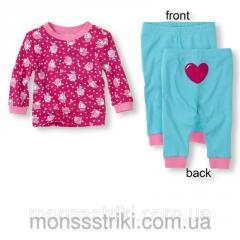 Пижама для девочки 12-18, 18-24 месяца, 2, 3 года