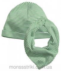 Шапка и шарф для мальчика 6-12, 12-24 месяца