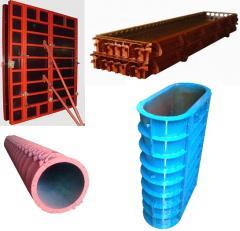Beton halkalar üretimi için makineler