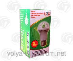 Энергосберегающая светодиодная лампа 9 Вт.