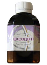 Tooth elixir of Eksodent of 100 ml 475644