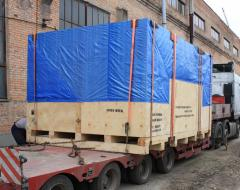 The container is transport large-size