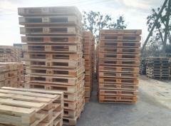 Европоддони, дерев'яні піддони