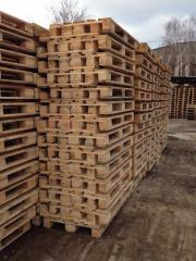 Eurocontainer, europallets, pallets state standard specifications 9557-87
