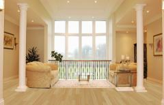 Coverings of floors from a laminate of Balterio