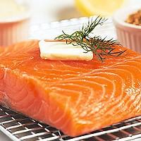 Fish, seafood, tuna, fillet of a tuna