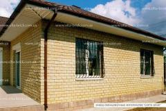 Brick facing decorative modular angular