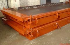 Металлоформы плит аэродромных покрытий ПАГ-14, ПАГ-18. (формы стальные металлические для производства железобетонных изделий, плиты аэродромные).