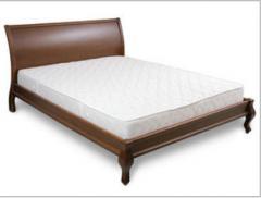 Кровать «Росава» с высокой спинкой