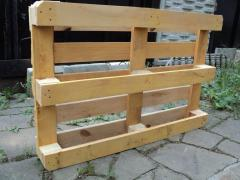 We make the pallets facilitated Euro only