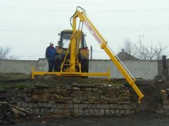 Hydraulic arrow of GST-1000 Range. For loading -