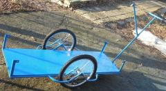 The cycle trailer the cargo cart, with the