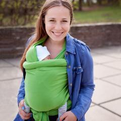 Трикотажный слинг-шарф Love & Carry®