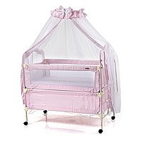 Кроватка детская TLY-900R-B80 для девочек розовая