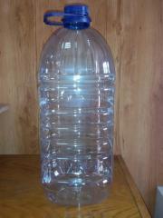 PET bottle of 7 liters