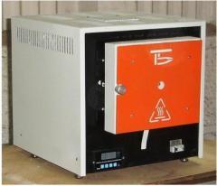 Electric furnace laboratory muffle