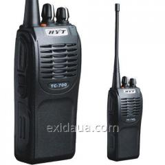 Portable handheld transceiver of Hytera TC-700