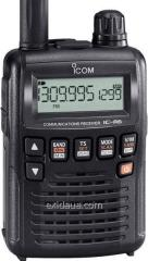 The scanning Icom IC-R6 receiver