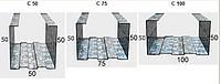 Профиль для гипсокартона CW-75*50