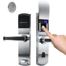 Biometric door locks in Kiev