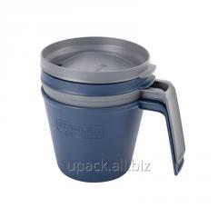 Adventure eCycle set of mugs of 2*0.47 L Blue